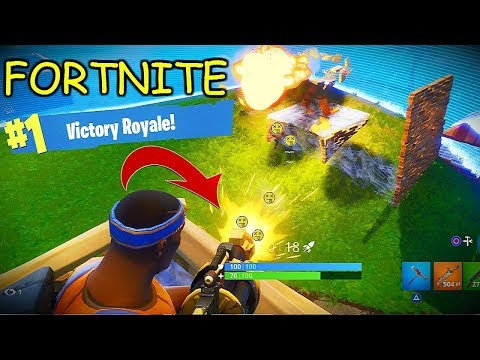My First Ever Solo Win On Fortnite!