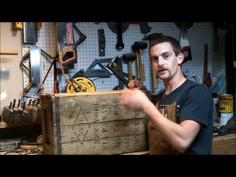 Restoring an old crate
