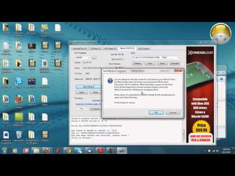 How To Flash Your Xbox 360 Disk Drive\Get Your Key Series:Fat Hitachi Low Rev Drives
