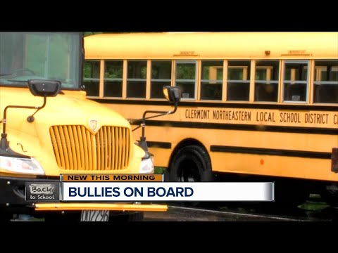 School bus cameras helping districts investigate bullying