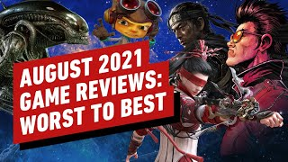 Every IGN Game Review For August 2021 | Reviews in Review