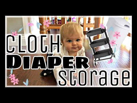 Cloth Diaper Set-Up and Storage | 9 month update