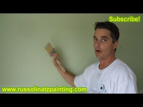 DIY Nursery Painting - Accent Wall & Horizontal Stripes (Part 2)