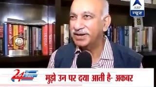 Sanjay Jha weakest spokesperson of congress party: MJ Akbar