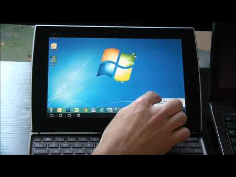 How to Control Your Windows 7 PC from an Android Tablet