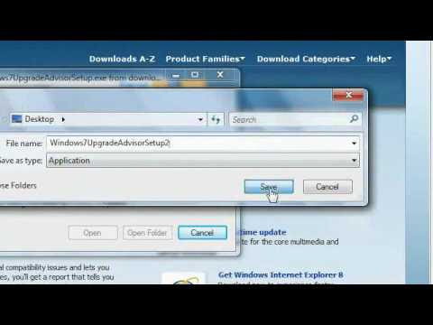 Windows 7: What you need to know before installing Windows 7: Windows 7 Upgrade Advisor