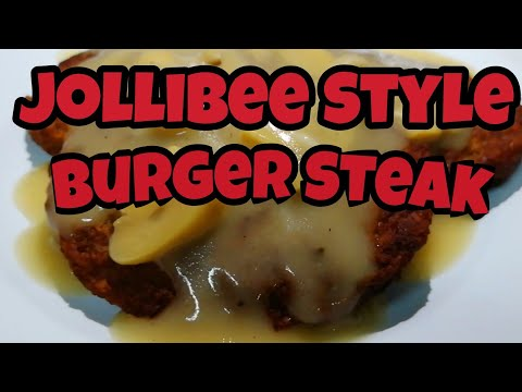 how to cook Burger Steak Jollibee Style | Quick and Easy | MediCusina Lutong OFW