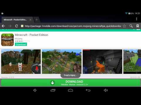 How to Download Minecraft for free on Tablet.