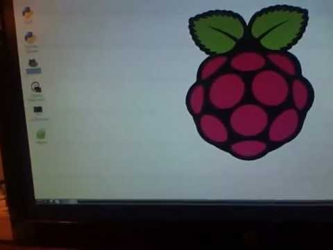 Raspberry Pi FIRST BOOT!!! :D Happy Holidays!