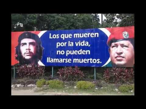 American Tourist Visits Trubute to Che Guevara, Hugo Chávez, Antonio Maceo - Holguin, Cuba