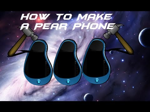 How to make a Pear Phone | ParkPlaceTutorials
