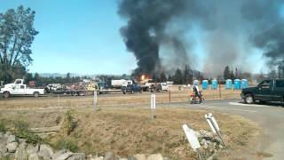 1,000 gal Propane Tank Explodes @ Sonoma Pacific