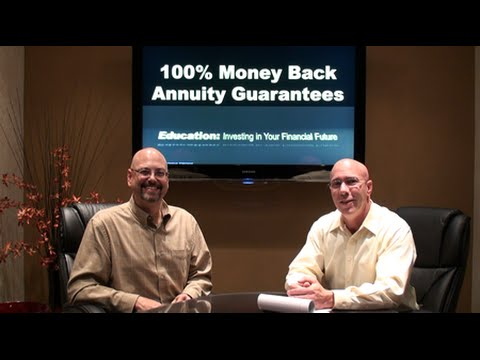 100% Money Back Annuity Guarantees!