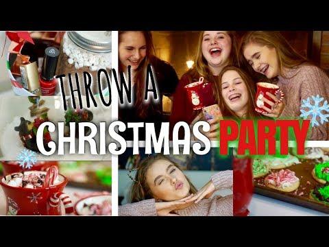 WHAT TO DO AT A CHRISTMAS SLEEPOVER: decor, makeup, diys, treats, + more!