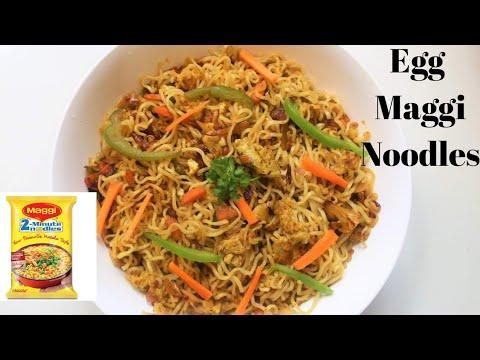 Egg Maggi Noodles   Egg Maggi   Maggi Egg Noodles   Egg Noodles   Egg maggi noodles recipe  