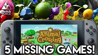 5 Biggest Games MISSING From Nintendo E3