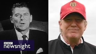 How does Donald (Trump) compare to Ronald (Reagan)? - BBC Newsnight