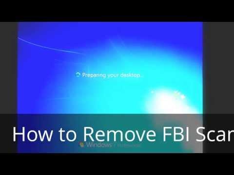 How to Remove the FBI SCAM moneypak virus