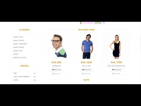 NEW!! E Commerce With PHP(PDO) Bootstrap, MySQL database [Full Source Code in Description]