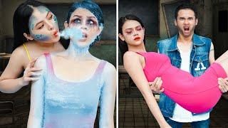 Vampire vs Mermaid at College | Funny Mermaid Situations & Funny Pranks | Back To School Prank Wars