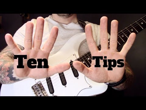 Ten Tips For Gigging Guitar Players