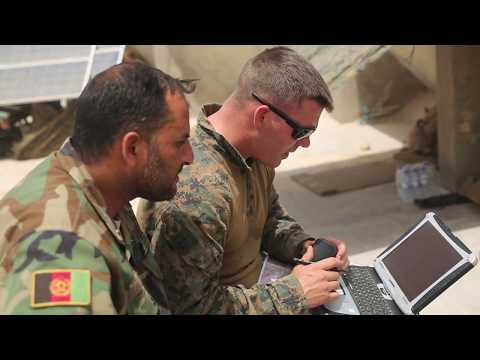 USMC Military Advisors assist Afghanistan's Security Forces