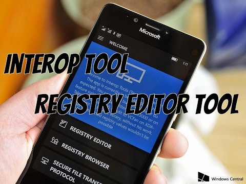 Interop Tool | Windows Phone Registry Editor Tool | Tweaks For Windows Phone