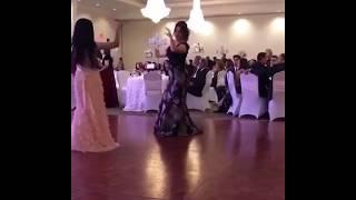 Beautiful Afghan girl dance