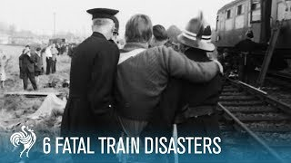 6 Fatal Train Disasters | British Pathé