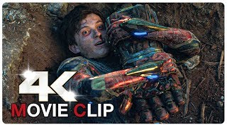 Captain Marvel helps Spiderman Scene - AVENGERS 4 ENDGAME (2019) Movie CLIP 4K