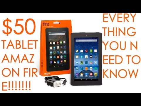 Amazon's new $50 Tablet!! Everything you need to know! Full Featured Tablet Free Apps Underground