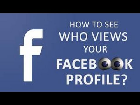 How to check who viewed my facebook profile
