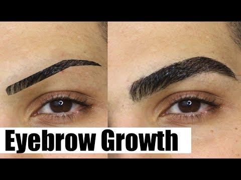 HOW TO GROW YOUR EYEBROWS OUT FAST! (THICK & NATURAL)