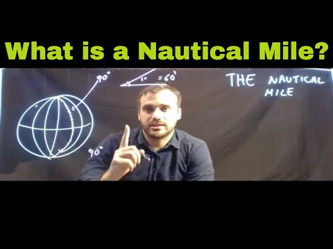 The Nautical mile - What is it?