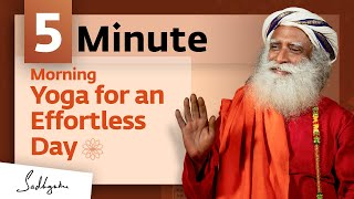 Yoga For Inner Exploration Shambhavi Mudra 5 Mins MeditateWithSadhguru