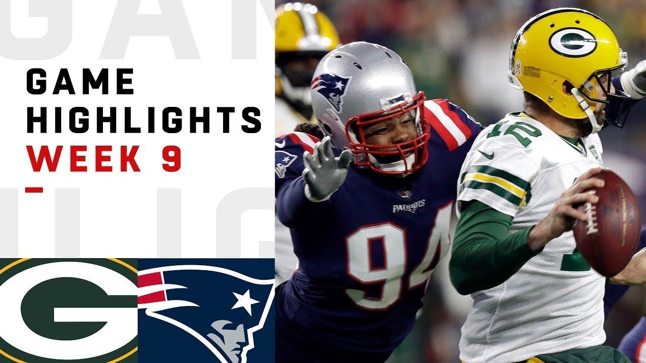 Packers vs. Patriots Week 9 Highlights | NFL 2018