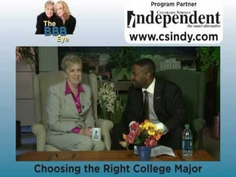 The BBB Eye - Choosing the Right College Major - August 2012