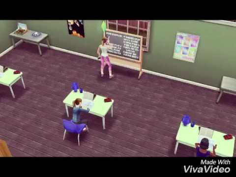Sims Freeplay: The Bully (part one)