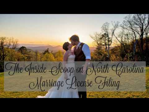 The Inside Scoop on North Carolina Marriage License Filing