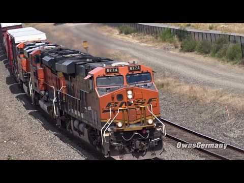 BNSF Railroad Action Along the Puget Sound