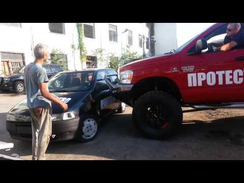 Iamatuning front bumper crash test. :)(2)