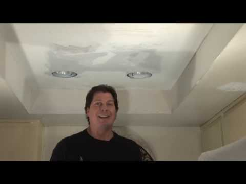(Step 2) Replace Fluorescent Lights w/ Recessed Lights