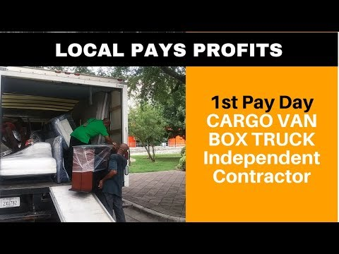 1st Pay Day for Cargo Van/Box Truck Contractor