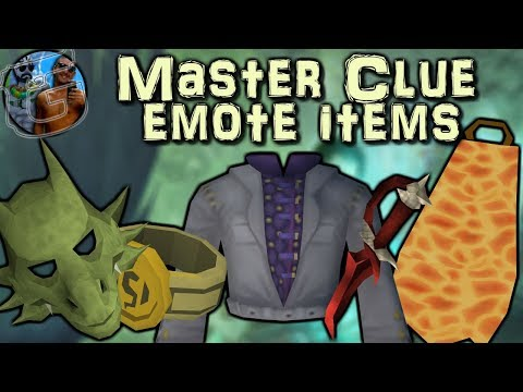 Master clue (Emote clues) - Harder-to-get items needed