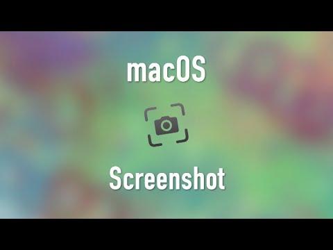 macOS: Capturing a Screenshot
