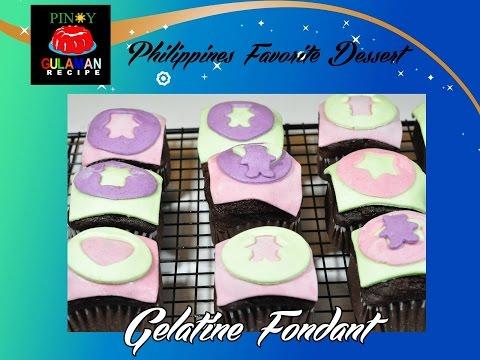GELATINE FONDANT Pinoy Gulaman Recipe
