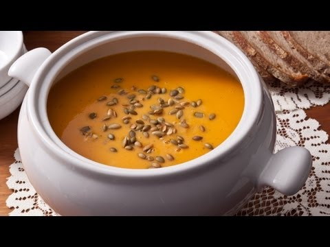 How to Make Easy Roasted Butternut Squash Soup - The Easiest Way