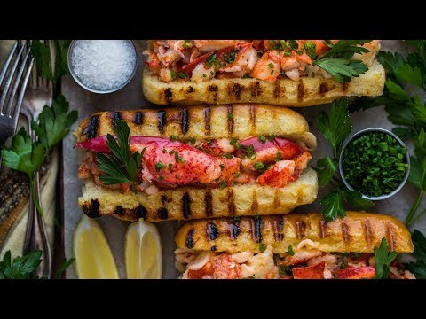 How to Make Butter-Poached Lobster Rolls
