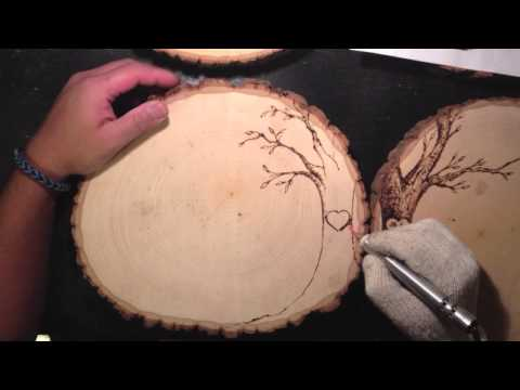 WOODBURNING: Wedding Guest