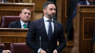 Santiago Abascal advierte a Batet en la Sesión Constitutiva del Congreso
